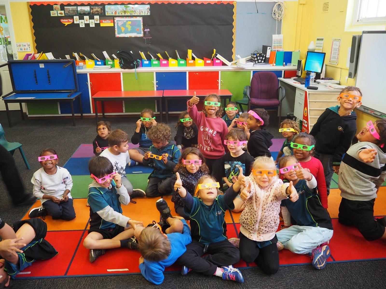 Students from East Kalgoorlie Primary School